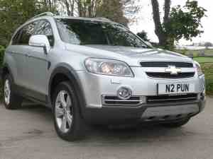 Chevrolet Captiva For Sale at Falmouth Garages
