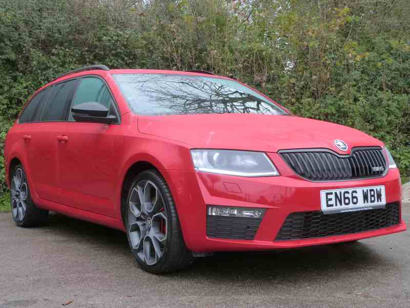 Skoda Octavia For Sale at Falmouth Garages