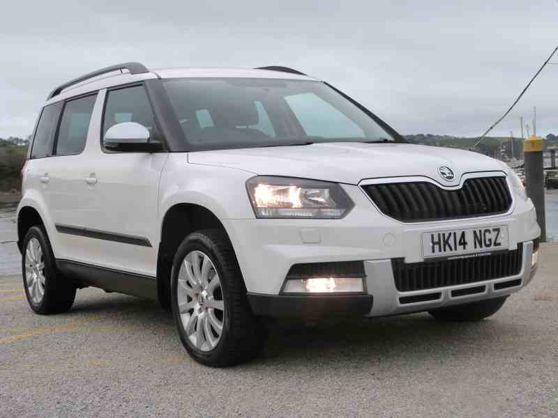Skoda Yeti For Sale at Falmouth Garages